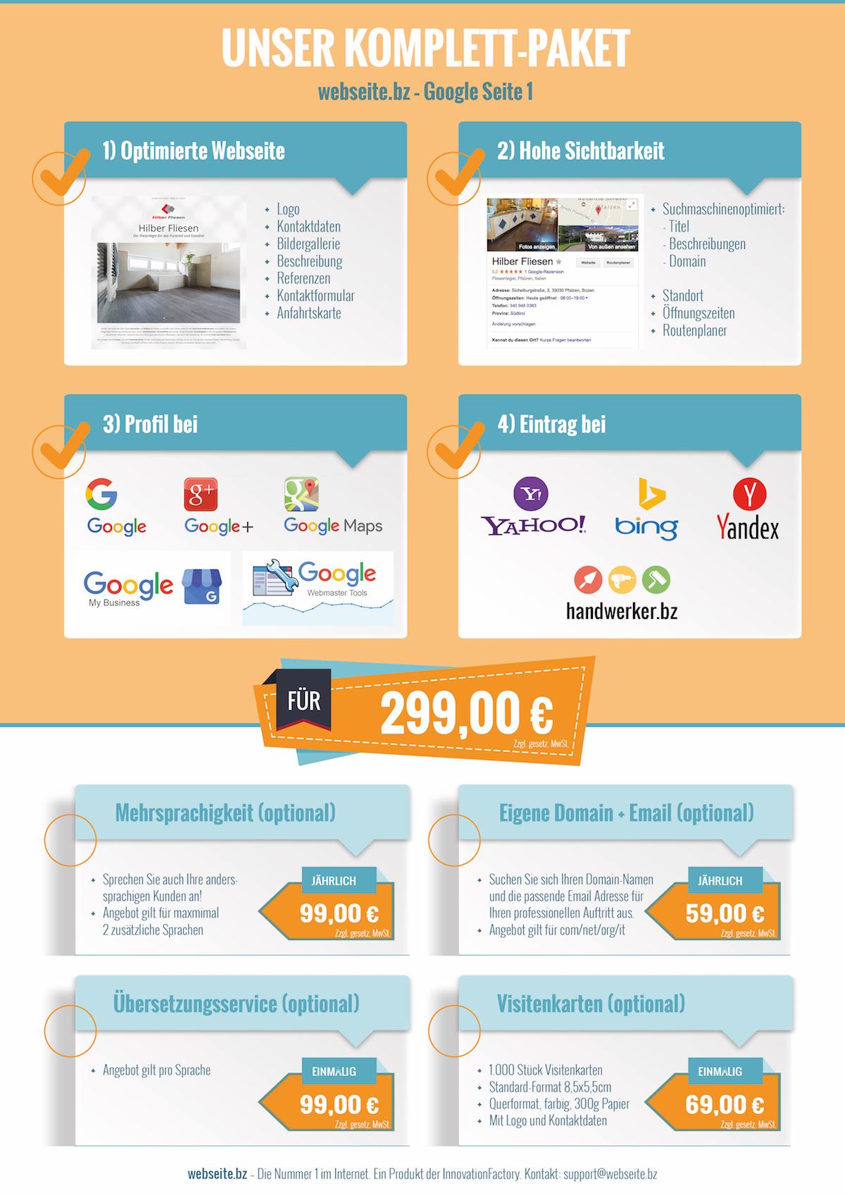 Produktübersicht Webseite Bz Wir Bringen Deinen Betrieb